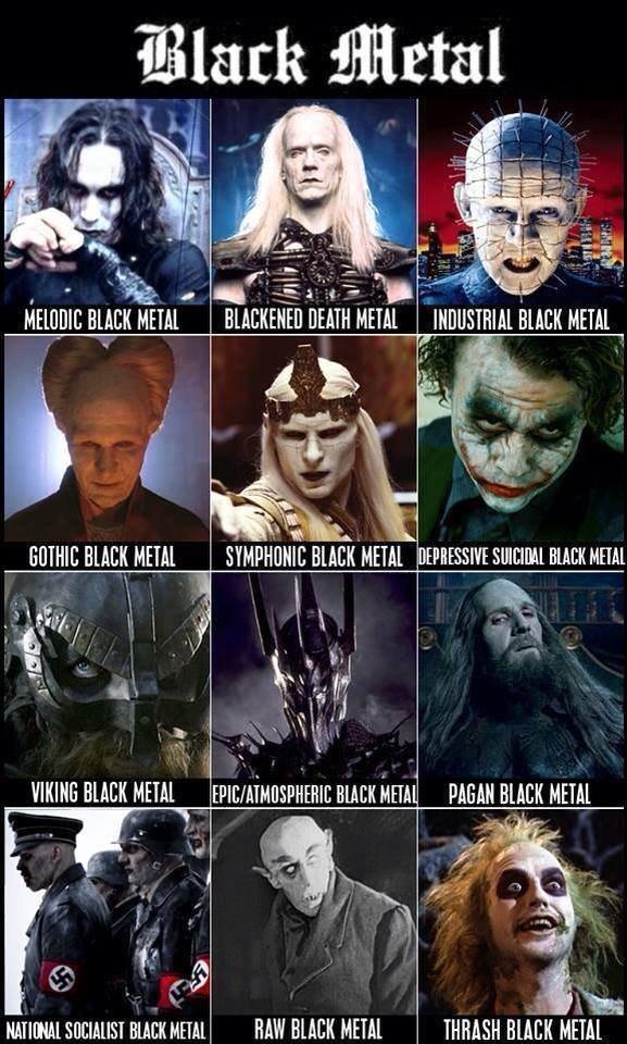"For the Black Metallers. . l/ lil/ ; BLACK HEM DEATH METAL ' lall. ISHFISH BEECH iii"" HMO[ Hal HUM HEM"