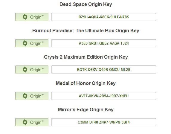 "for you, my lovely assholes. . Dead Space Origin Key l Origin"" DISH u! Burnout Paradise: The Ultimate Box Origin Key l O Origin"" 24 Crysis 2 Maximum Edition Ori"