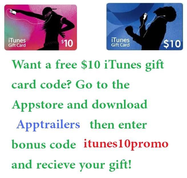 free itunes code.
