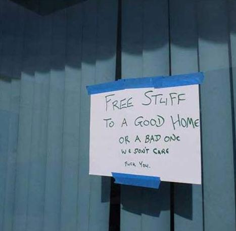 Free stuff. Yes. STEVIE? T: A HUME MBI,