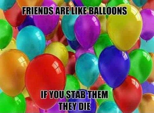 Friendship. .. No ?