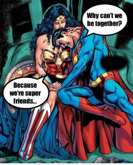 Friendzone Level: Superhero. .