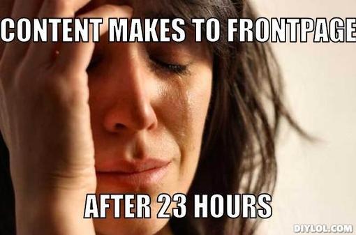 Frontpage problems... D:.