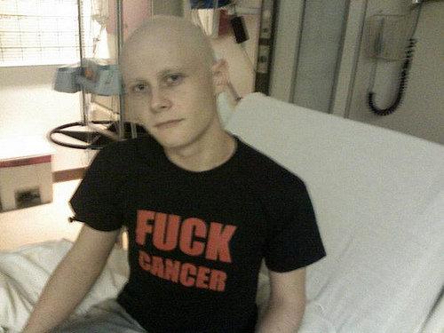 fuck cancer. .. Poor guy.