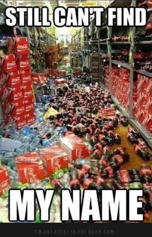 Fuck coke ... .