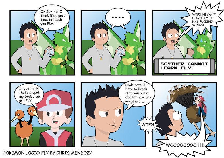 fuck logic. .. How it works. Pokemon