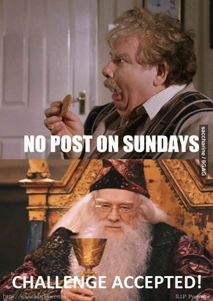 Fuck the newest upload on Sunday. . no post on sundays