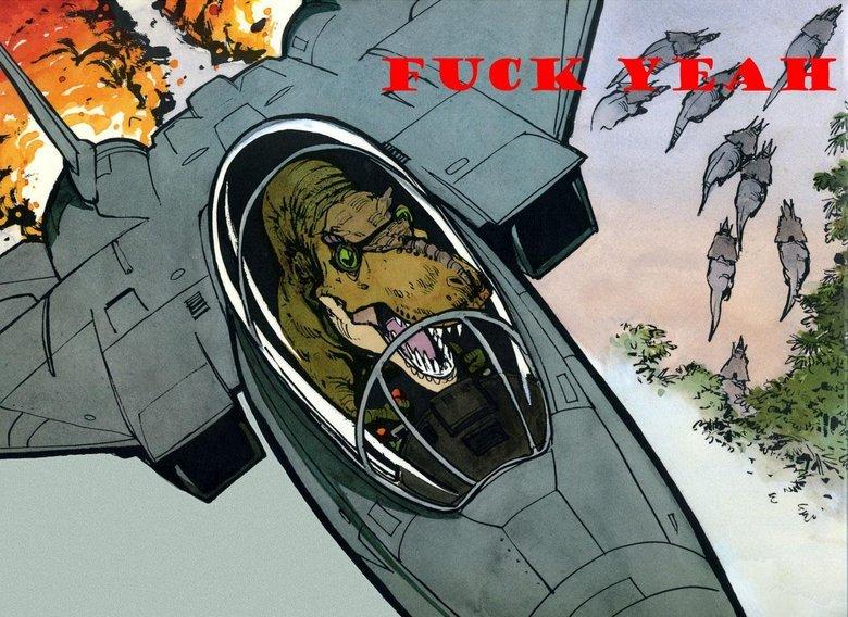 FUCK YEAH. Sense, this makes plenty... BEST BOOK EVAR. Nostalgia :) jets Planes dino porn
