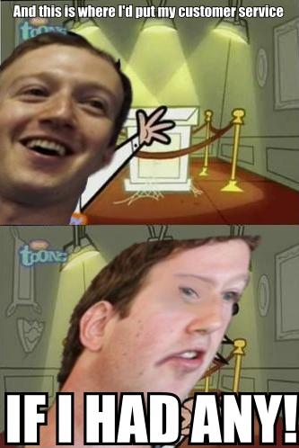"Fuckerberg. . i ""tital' Is I' ll tiill my HIE!. Cock Suckerberg customer service"