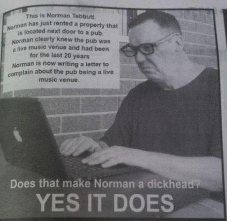 Fucking Norman. . run I: itle? far HIEI ID yuan Hamman new wroung I lunar In mm-. awn! than pub bring an Inn music: i' Ihp' Does that make Norman a dick e YES I
