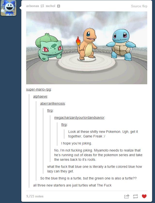 Fucking Gensixers. Source: tumblr. arizonas E sschool I] Source the DEE: Ciro: EEN ac h fl Ort) ant) savior: Ciro: Look at these new Pokemon. Ugh, get it togeth