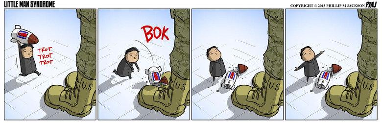 "Fucking North Korea, dude. Credit to jollyjack from deviantart. Tm "" COPYRIGHT © 2013 M JACKSON Mt politics pogosticks what the hey"