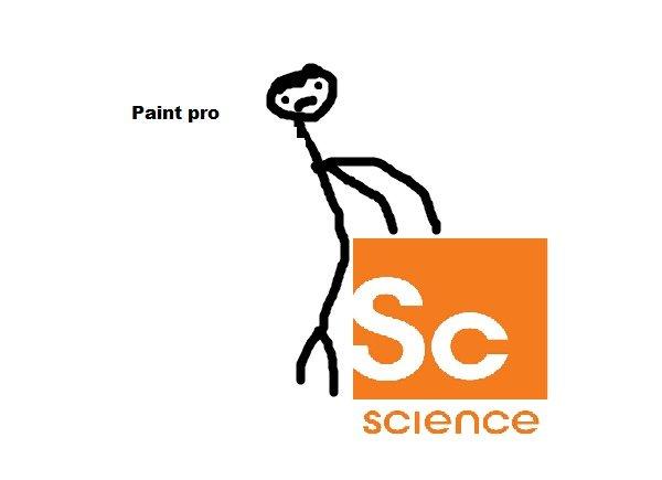 Fucking science. Really nice paint i think its the real deal. Paint pro tti SCIENCE fucking science