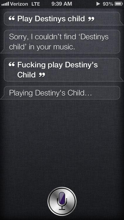 Fucking Siri. .