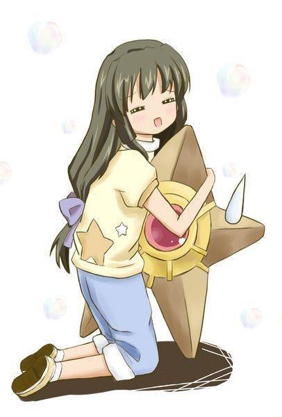 Fuko's favourite Pokémon. d'awwe :3.. Staryu I choose you!