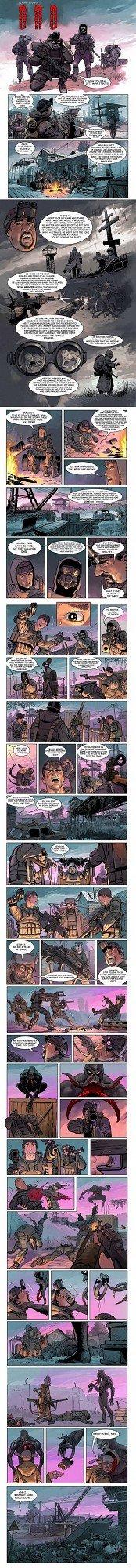 Full S.T.A.L.K.E.R Comic. . Ehi Cal. Seriusly?