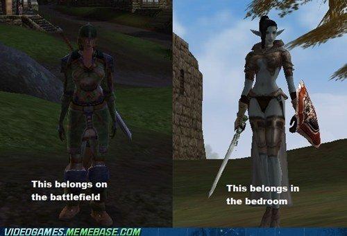 Functional Female Armor. Functional Female Armor. This belongs an the This belongs in the bedroom MEMEMEM. tmm