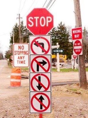 Funny Sign - No way out. Funny Sign - No way out.. I like your title and description.