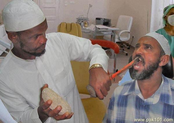 funny dentist. .