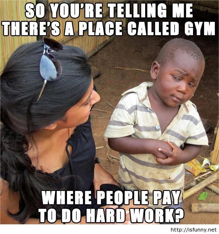 """Funny hard work at gym. Funny hard work at gym isfunny.net/funny-hard-work-at-gym/. IIE ME BALI"""" GYM. off inspiringfunny."""