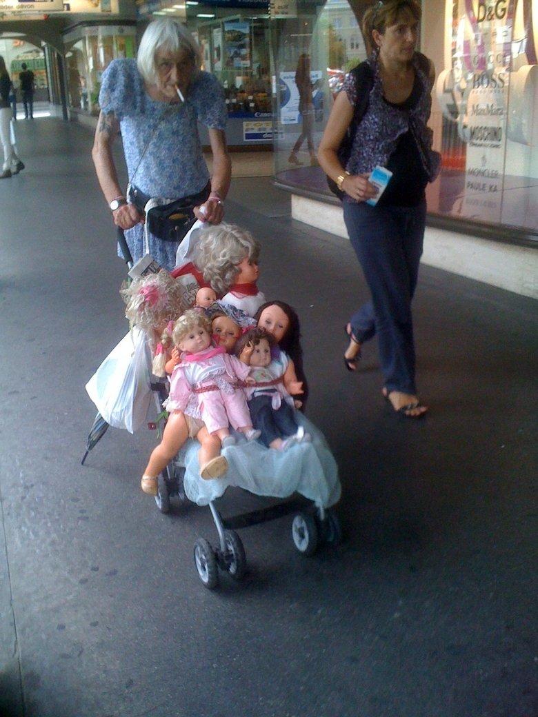 Funny Grandma. .. Are you sure thats not a grandpa?