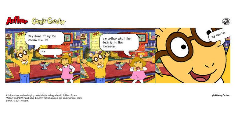 Arthur Comic Creator Funny Funny Arthur Comic Creator