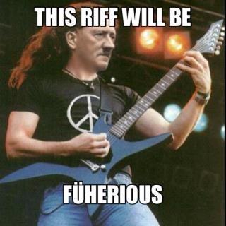 Furious Riff. fick deine fünf Wörter Admin. THIS Mif WM BE. RIFFS!