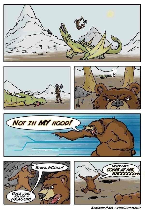 Fus Ro Bear. .