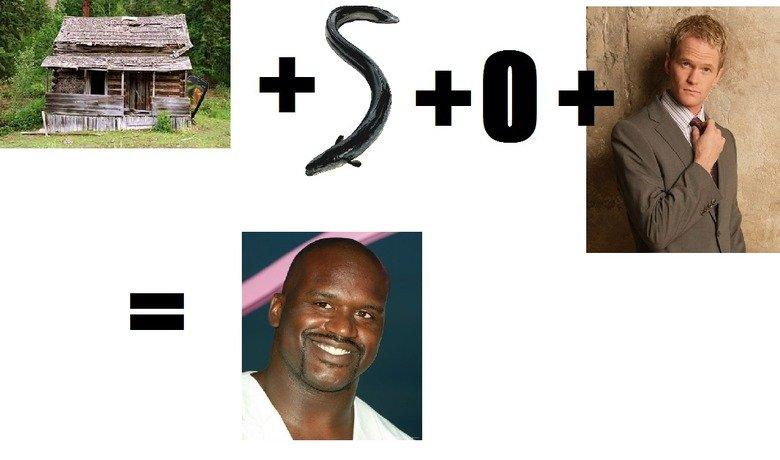 Fusion Ha!. IRL math... Shack Eel Oh Neil. Come on bro, use your head Fusion shaw funny eel O Neil Patrick Har