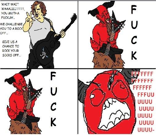 "FUUU. Devil VS the D. ltc) l,) TO A PEEK EFF- ELIVE us A Cleche' E TC EDCIGE EFF-.. Itll"" lili FAFF g . ll' Illest if FFCCFF in uguu uguu uguu uguu-. i love that movie ^^ youre awsome"