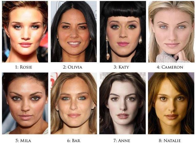 G8 Hot Women Merged into One. Rosie Huntington-Whiteley, Olivia Munn, Katy Perry, Cameron Diaz, Mila Kunis, Bar Refaeli, Anne Hathaway, and Natalie Portman. Ros