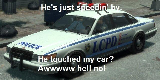 GTA Police. GTA police make no sense.