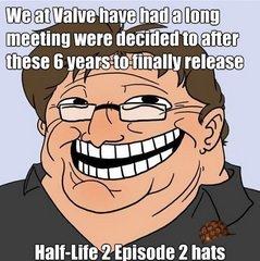 Gabe Newell everybody!. . Hallowe 2 E land: h' mm