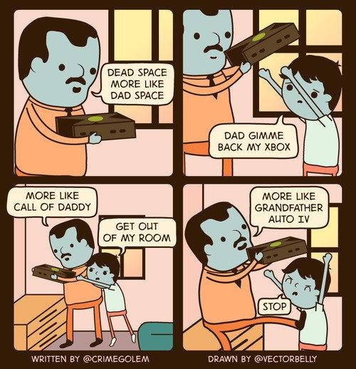Gamer Dad. .