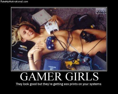 gamer girl anal