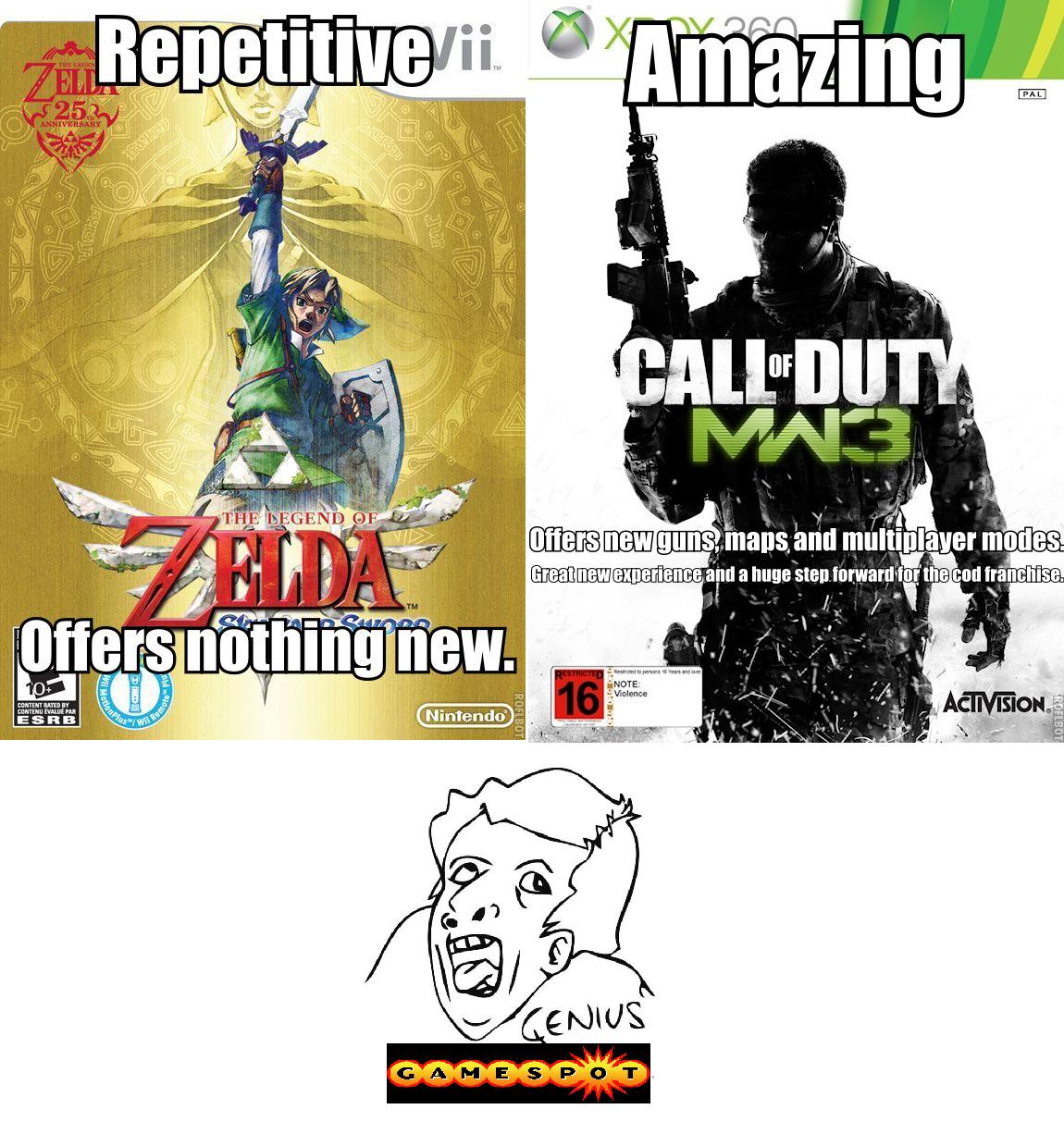 gamespot logic. oc.. Gee, I wonder why. games