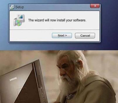 Gandalf Install Wizard. . Gandalf Install