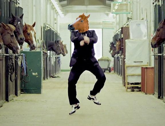 Gangnam-Horse. Gangnam-Horse.. more interesting horse head mask you can visit