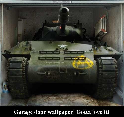 Funny Garage Door : Garage door wallpaper