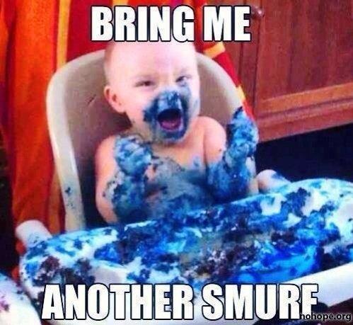 Gargamel as a child. .