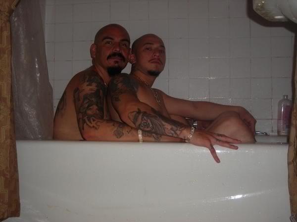 GAY CHOLOS!. AI PAPI!.. It's the mexican bert and erine ! Gay mexican cholo gangbang gangbanger thug Thugs messican