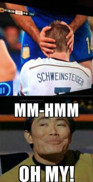 Germany vs. Argentina - oh my. Lel.