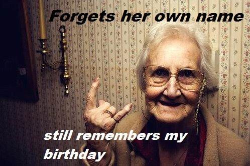 gg grandma. .