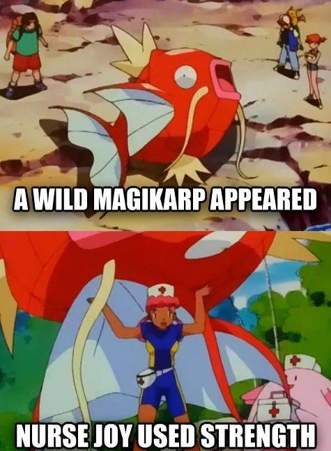 Giant Magikarp. .. when it evolves