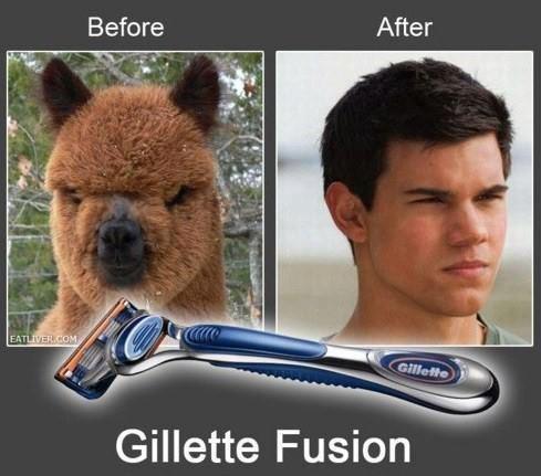 Gillete. . Before After Gillette