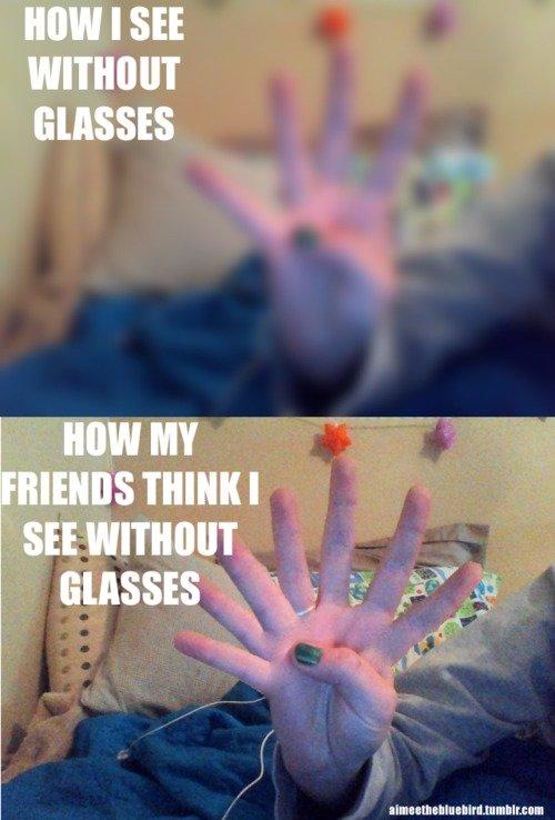 Glasses. .