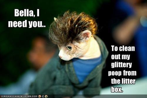 Glitter Poop. . Bella. I In clean out my mitten! will tram ttwtt