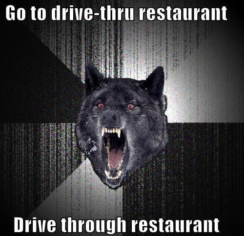 go to.... . no to restaurant