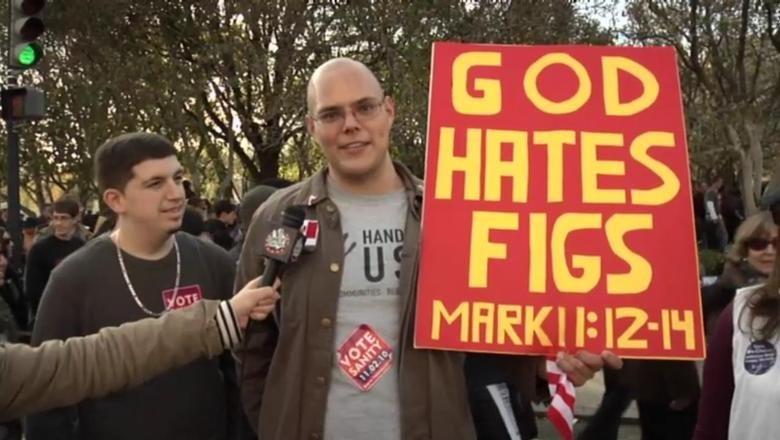 God Hates 'Em. True Story.