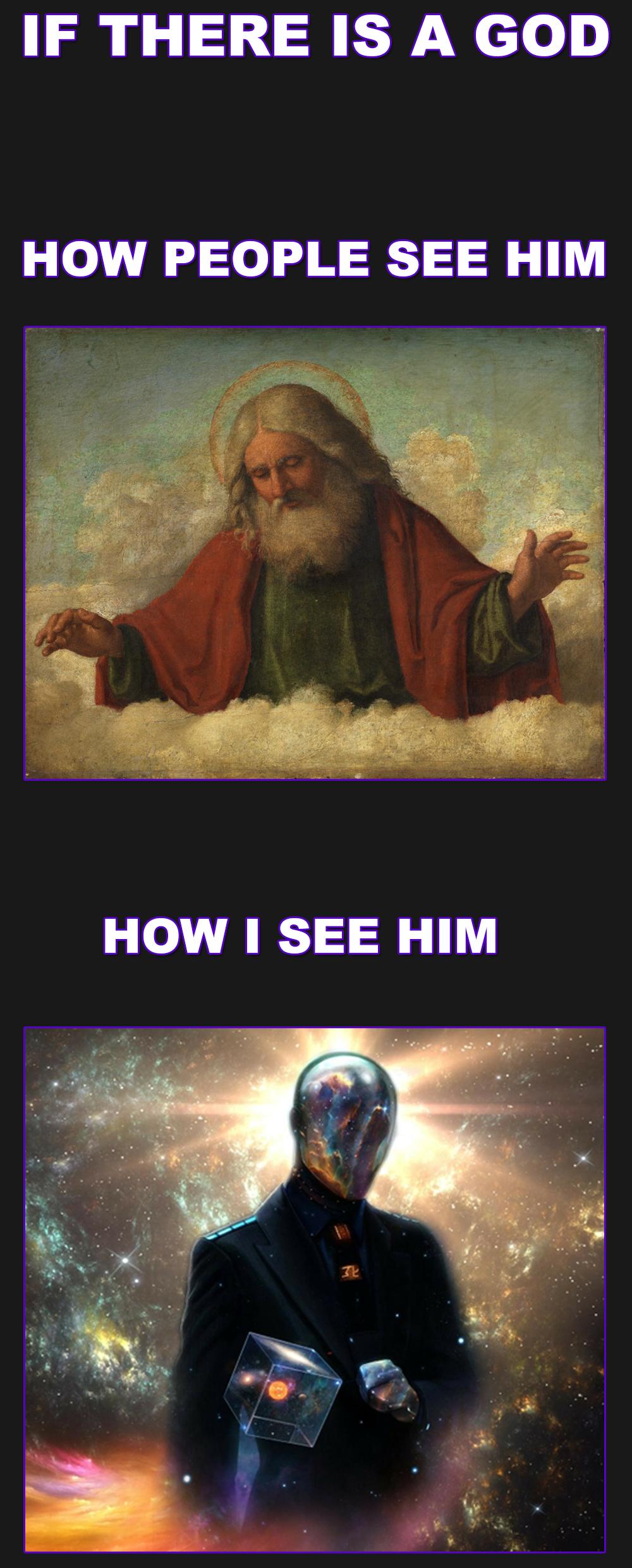 GOD. .. how i see god